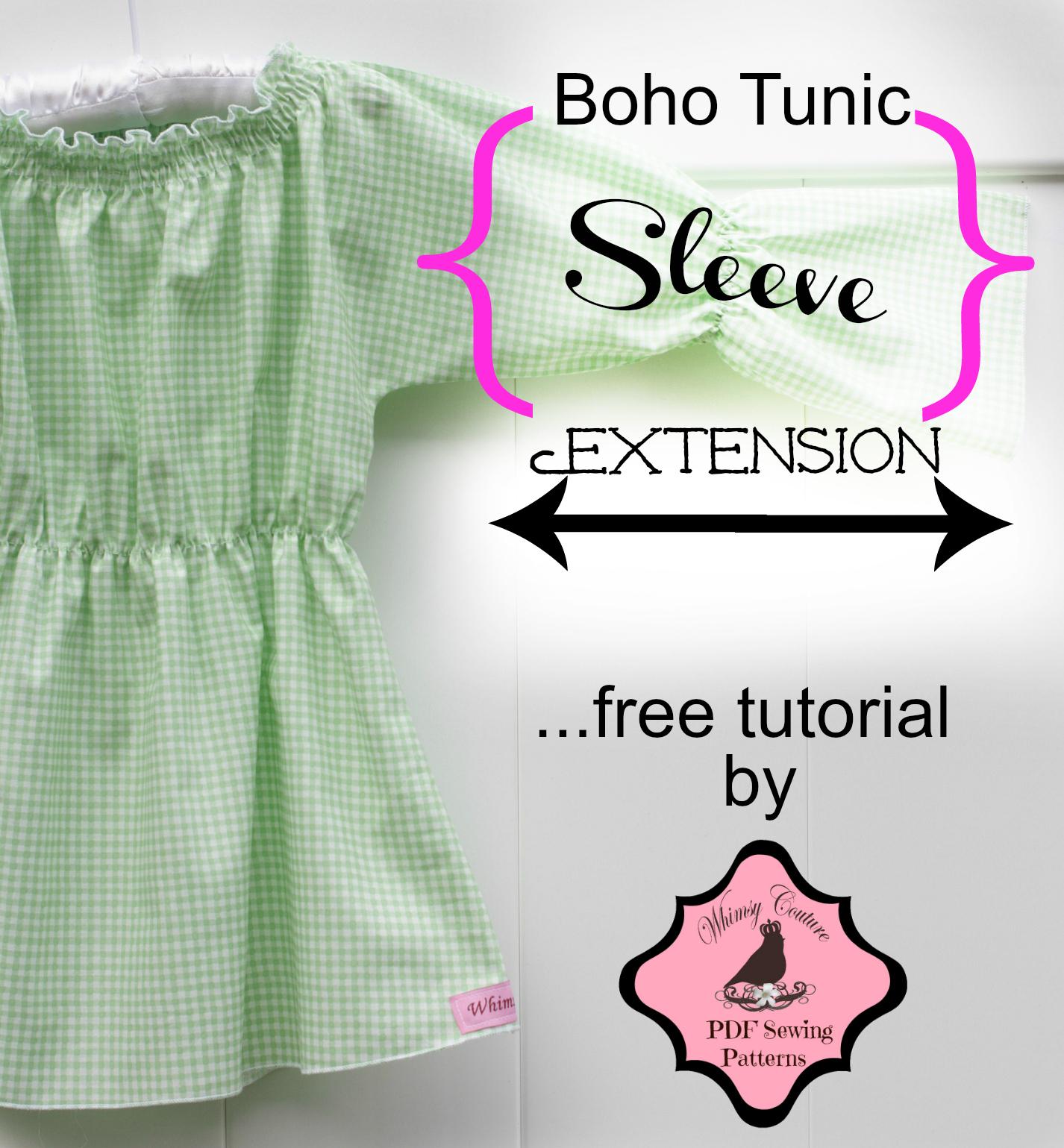 Boho Tunic Pattern Free Tutorial – Boho Tunic