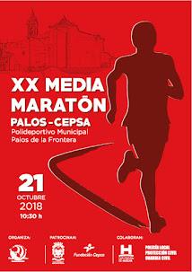 XX Media Maratón Palos de la Frontera/Cepsa