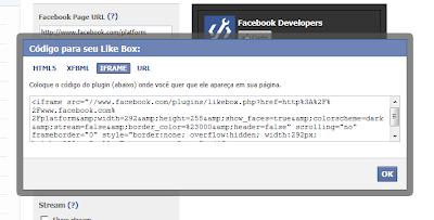 colocar botão curtir do facebook
