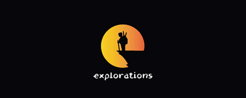 Explorations Logo Design