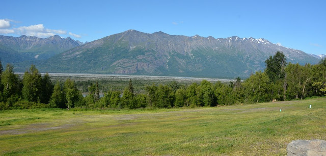 Knik River Lodge Palmer view