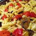 Eggplant Tomato & Garlic Vegan Pasta