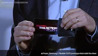 Samsung Youm, Teknologi Layar Lipat Fleksibel, Organic Light-Emitting Diode (OLED)