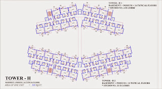 Up Country, Yamuna Expressway :: Floor Plans:-TOWER H