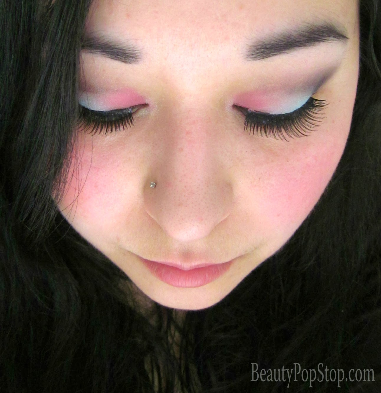 make up for ever arty blossom palette and hd blush makeup tutorial