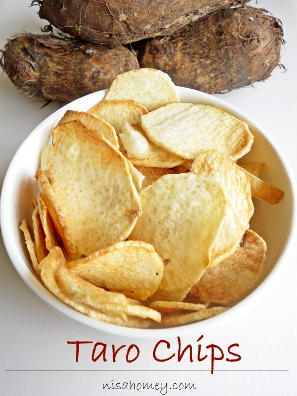 Taro Chips Recipe — Dishmaps