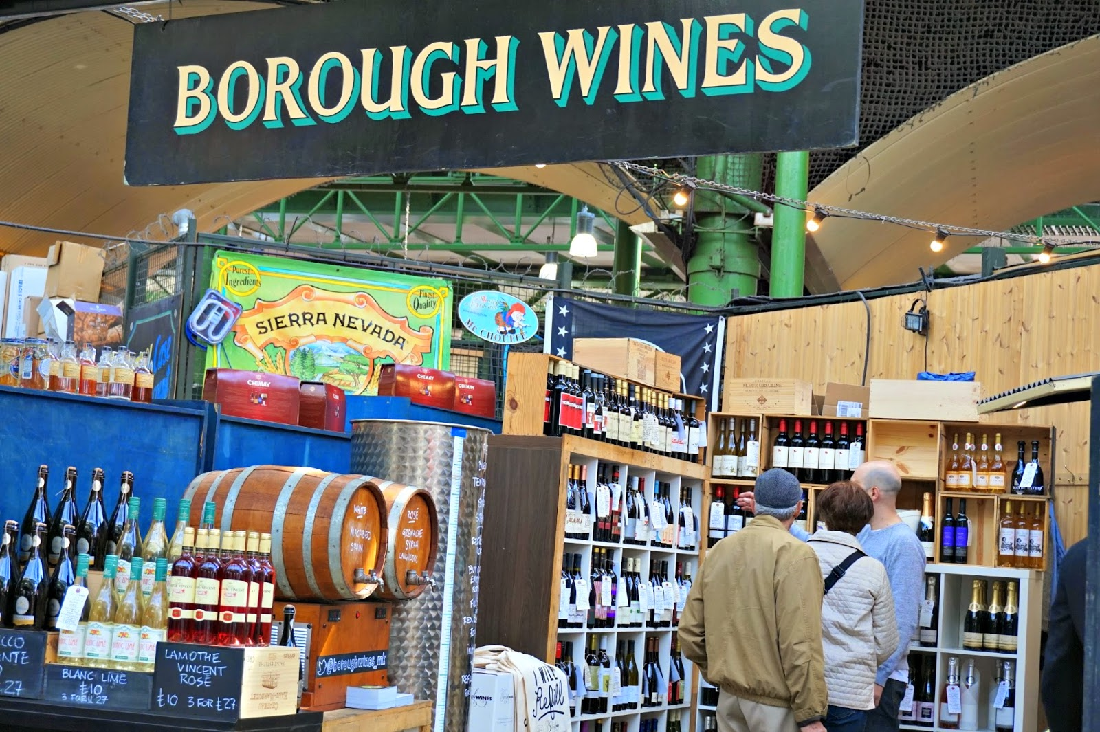 Borough Market Wine