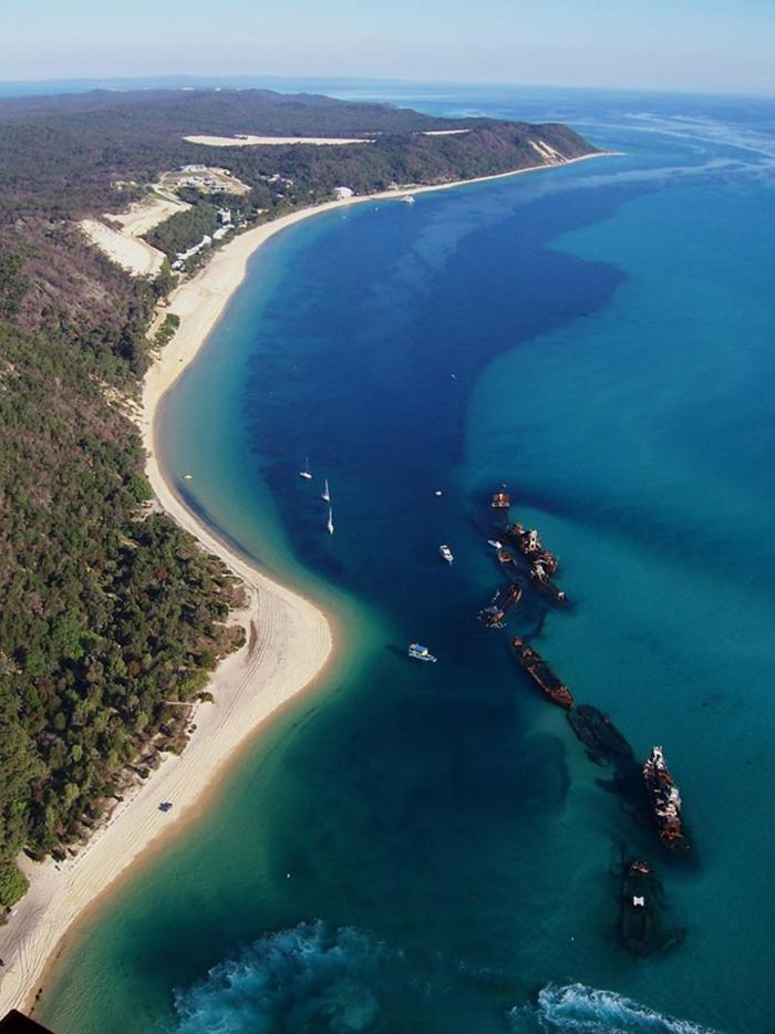 Muzak The One And Only Moreton Island The Island Of
