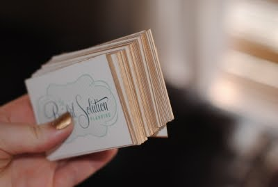 The pampered mom diy gilded tbs business cards the credit goes to camille styles here is here post on her diy gilded business cards colourmoves
