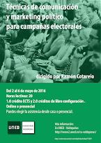 Curso sobre comunicación Política y campañas electorales