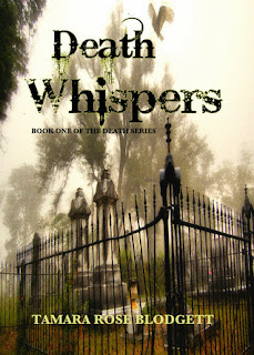 Win a Paperback of Death Whispers by Tamara Rose Blodgett