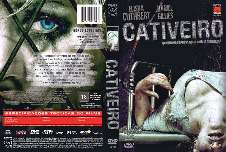 Capa DVD Cativeiro