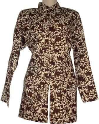 Model Baju Batik Wanita - Desain Terbaru Modern