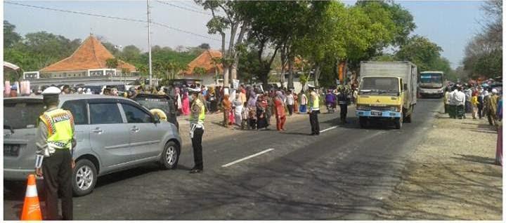 Pemberangkatan calon jama'ah haji (CJH) Kabupaten Probolinggo