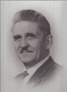Marlene Terry's Father's black and white photo