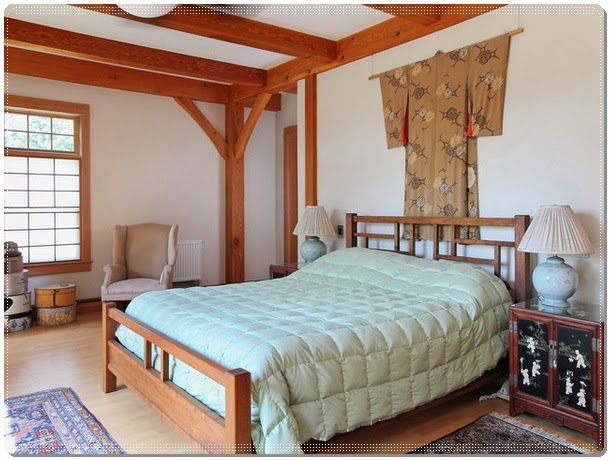 Elegant Oriental Main Bedroom Decorating