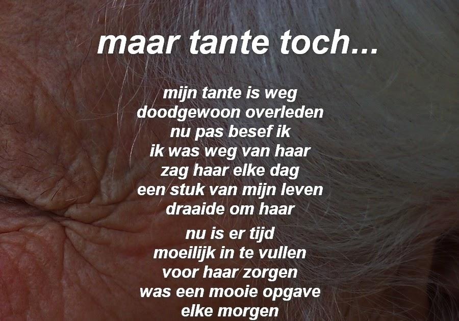 Genoeg Gedichten in beeld...: maar tante toch... #DD18