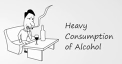 alcohol drinking leads to ED