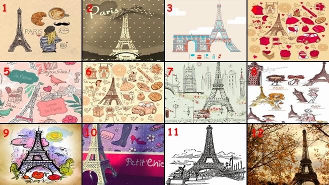 Catalog: Paris - Menara eiffel