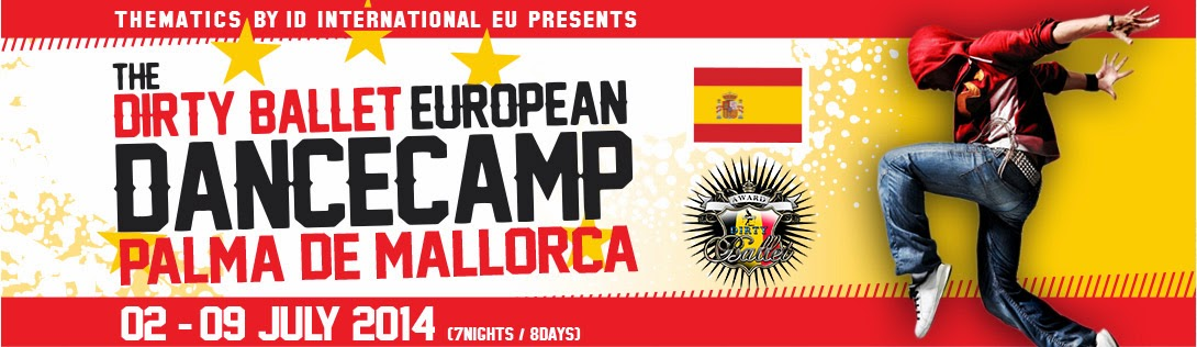 DIRTY BALLET EUROPEAN DANCECAMP 2014