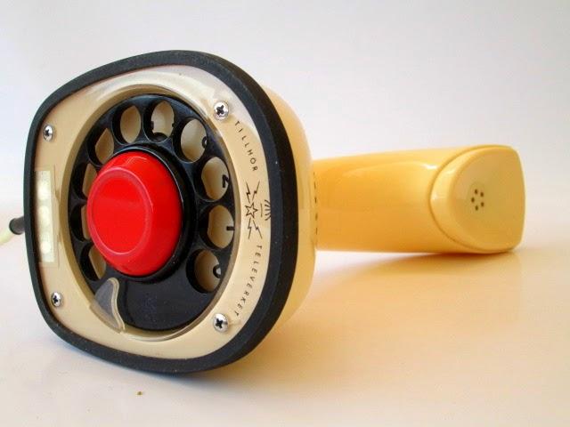 """TELÉFONO """"COBRA"""" ERICSSON MOD. ERICOFON SUECO AÑOS 50/60"""