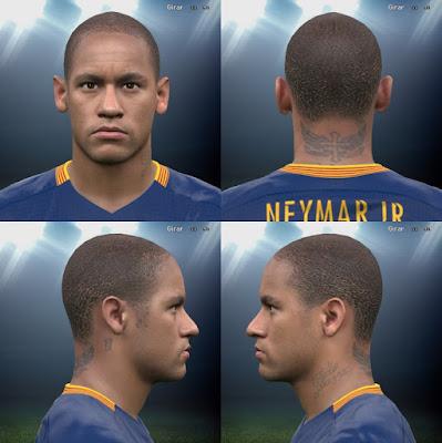 PES 2016 neymar face