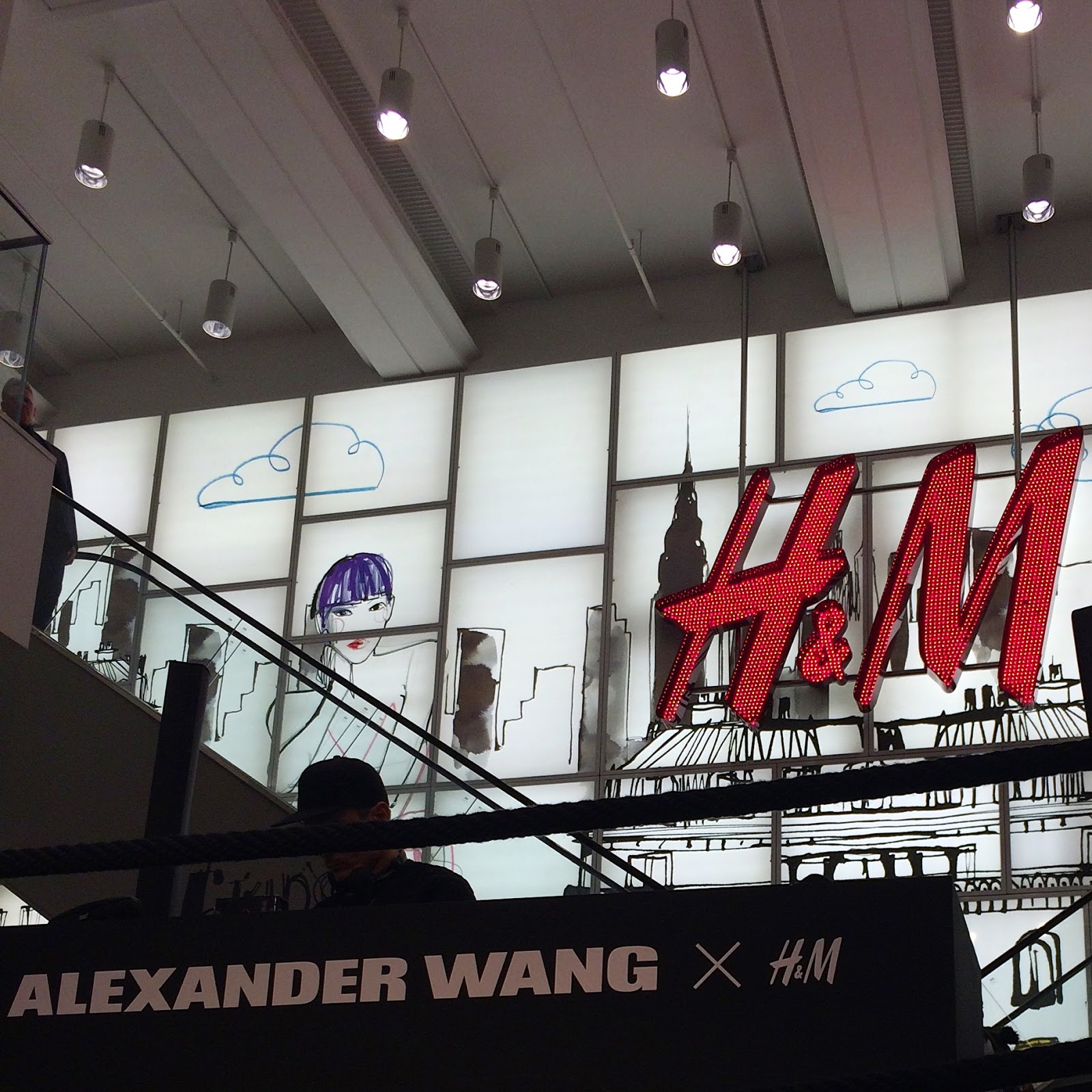 Alexander Wang x H&M Launch Shopping Event DJ