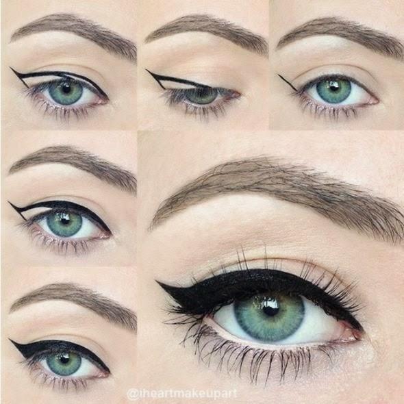 Diferentes maneiras de delinear os olhos - eyeliner