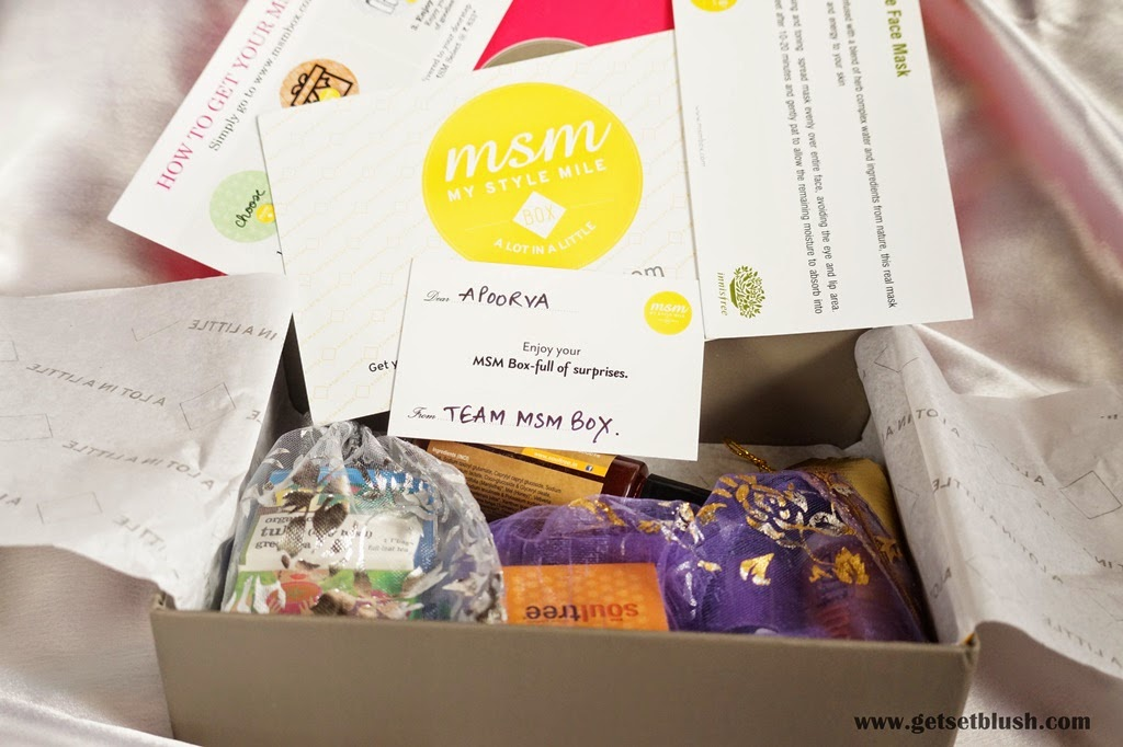 MSM Box - My Style Mile Box - January Edition