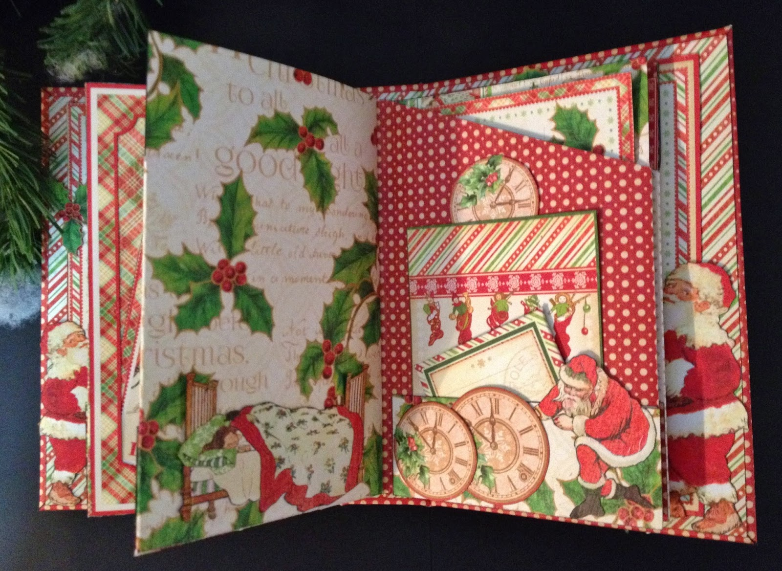 Annes Papercreations Graphic 45 Twas The Night Before Christmas 6 X