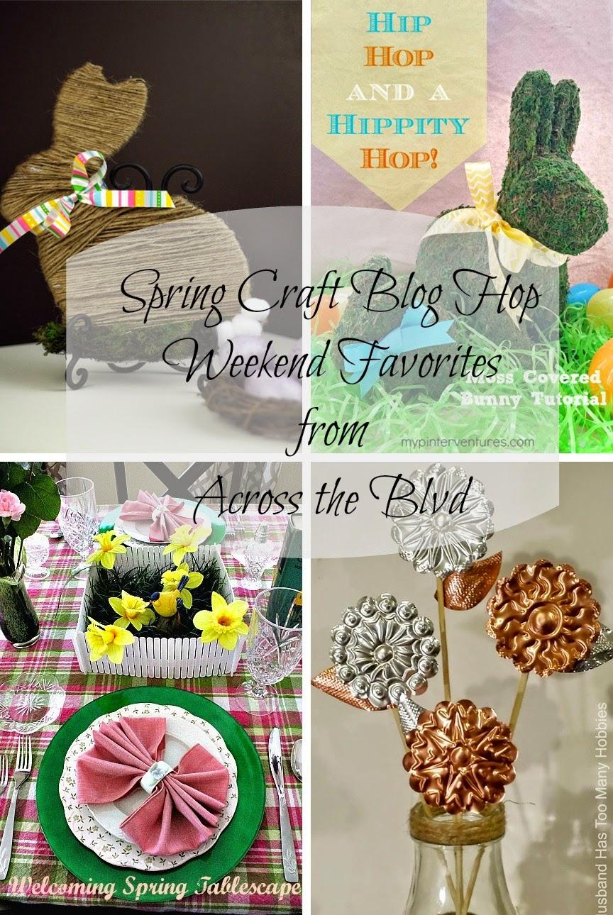 Spring Craft Blog Hop Weekend Favorites # 9