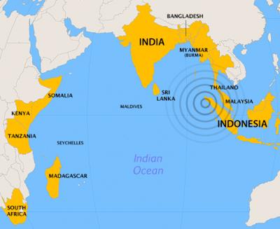 islas maldivas mapa de donde están