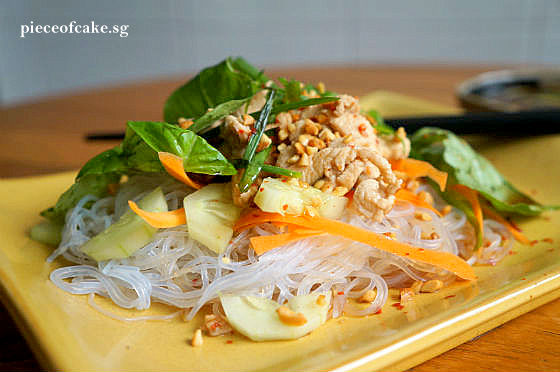 Piece of Cake: Thai Chicken and Noodle Salad