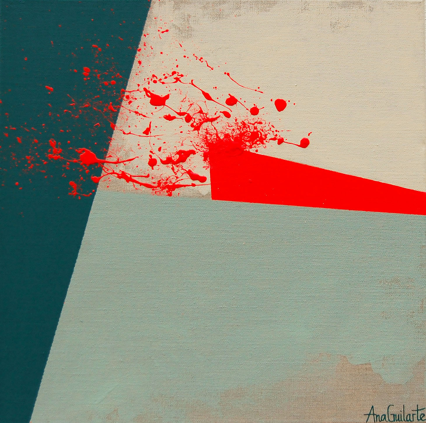 211. UNTITLED. 40X40cm. Sold/Vendido
