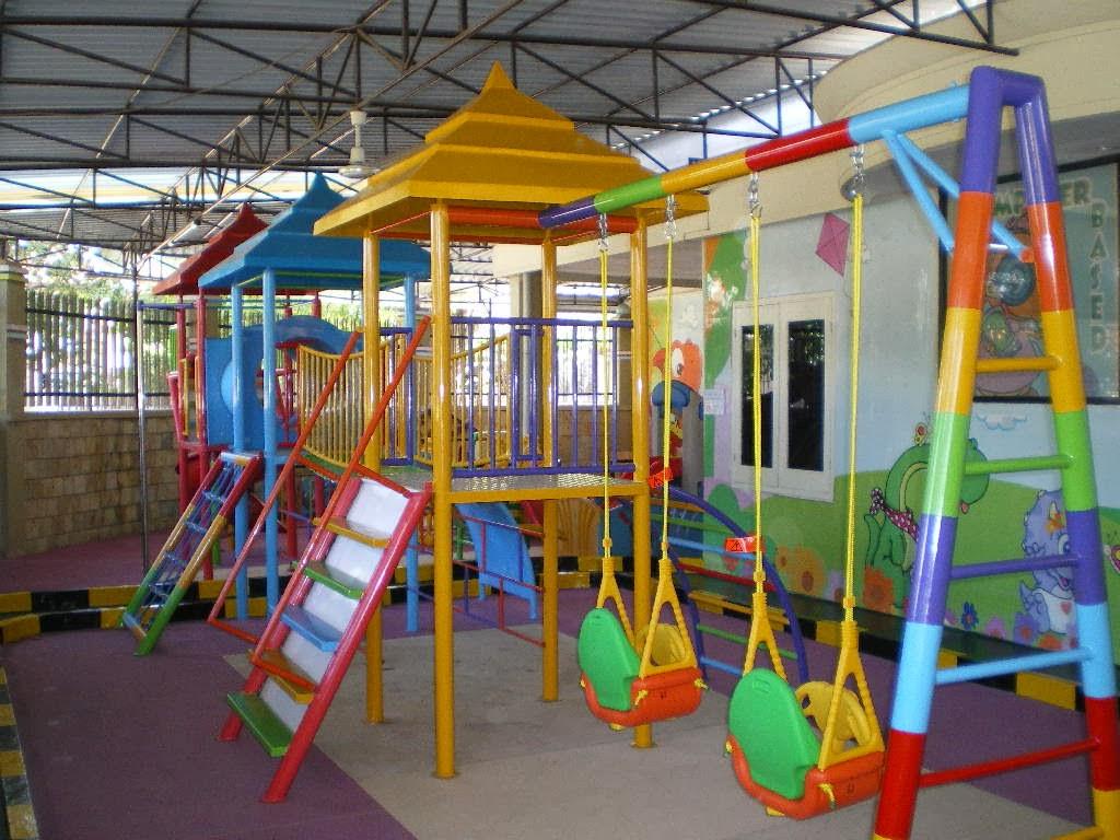 permainan belajar di playground