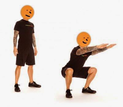 sentadillas o squat