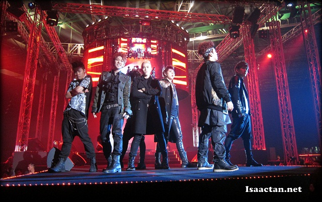H-Artistry 2012 @ MIECC (Block B K-Pop Boy Band shown here)