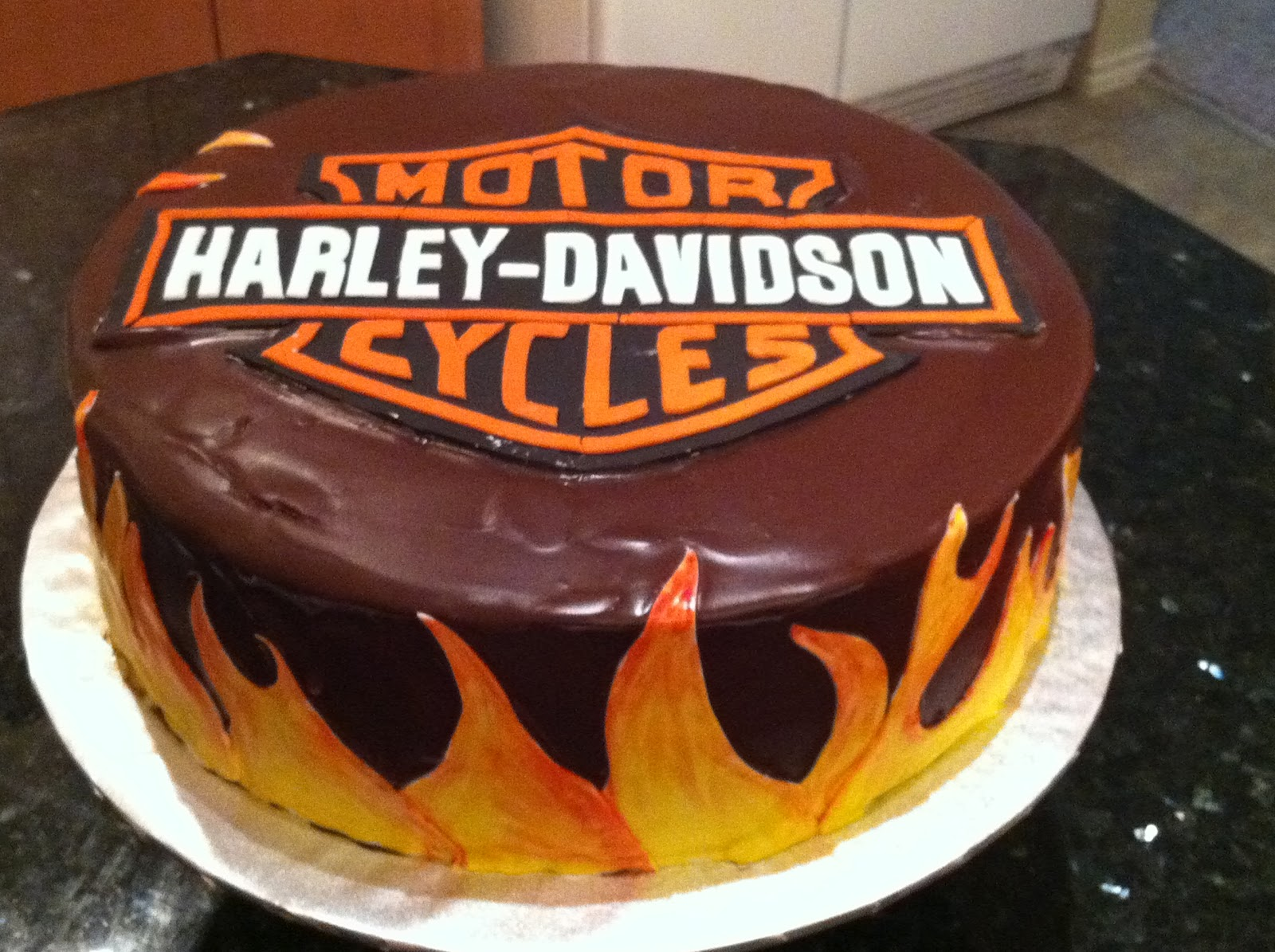 Happy Birthday Harley Cake