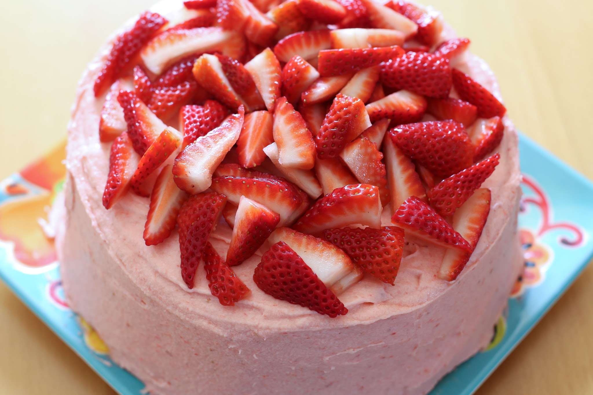 fresh strawberry frosting recipe