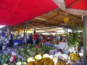 Our local fresh fruit and veg market