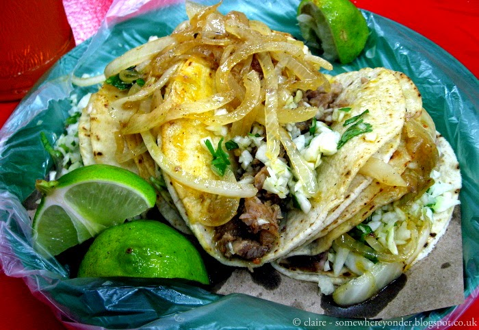 tacos - Palenque, Mexico