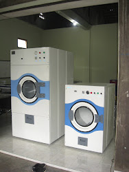 mesin pengering laundry konversi gas