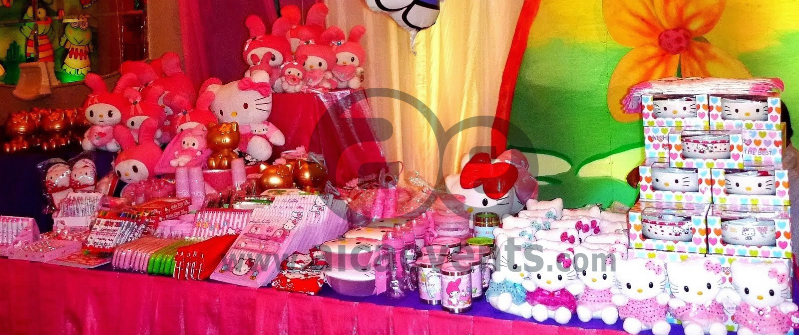 aicaevents: Hello Kitty Themed Birthday Party Decorations