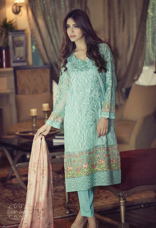 Formal Suits Latest Formal Collection For Girls 2015 By Maria B