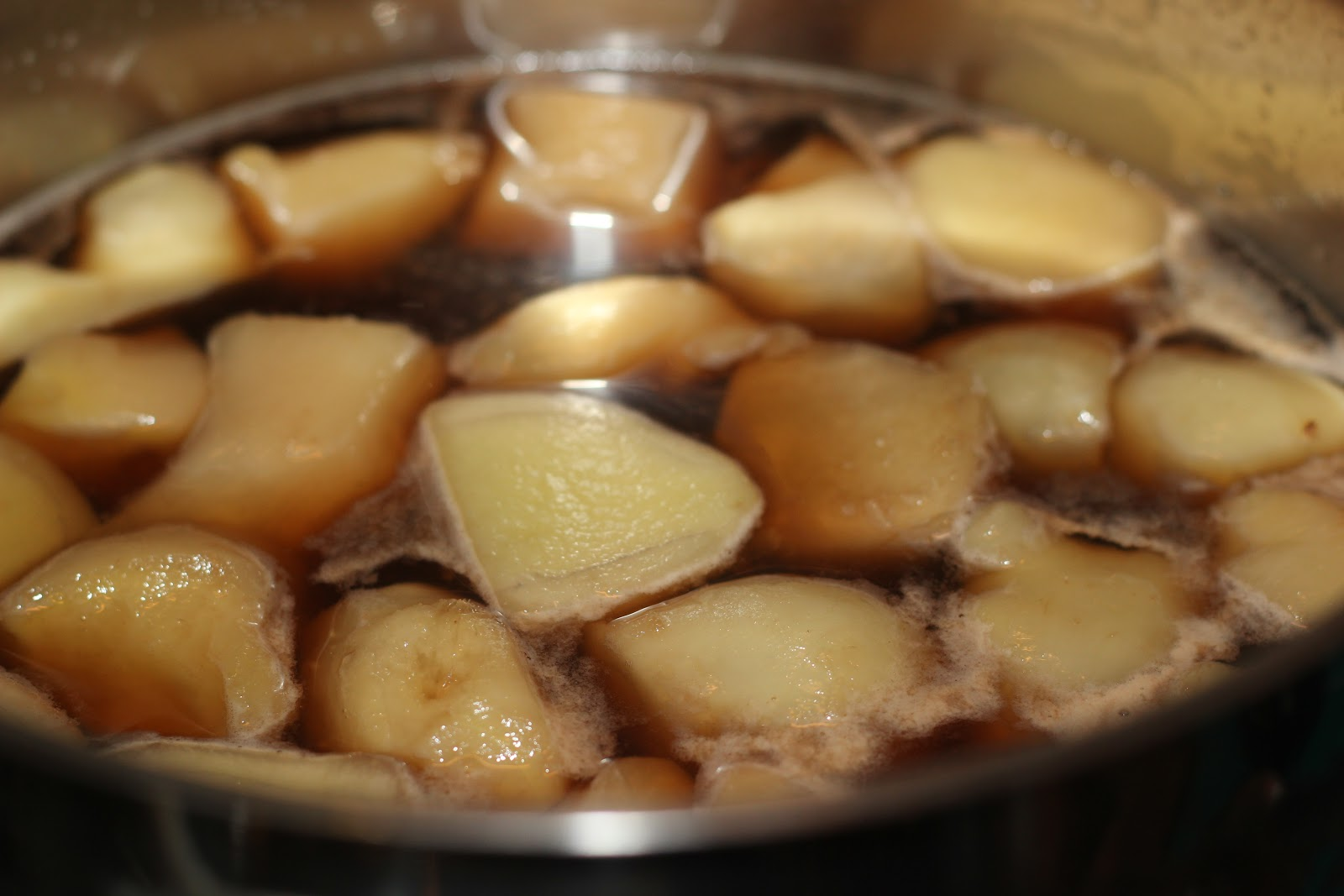how to make stem ginger in syrup