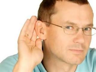 Η επιλεκτική ακοή των αντρών!