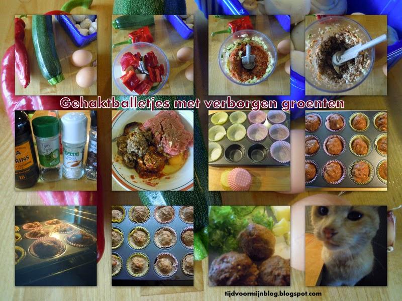 Recept: Verstopte groenten in magere gehaktballen