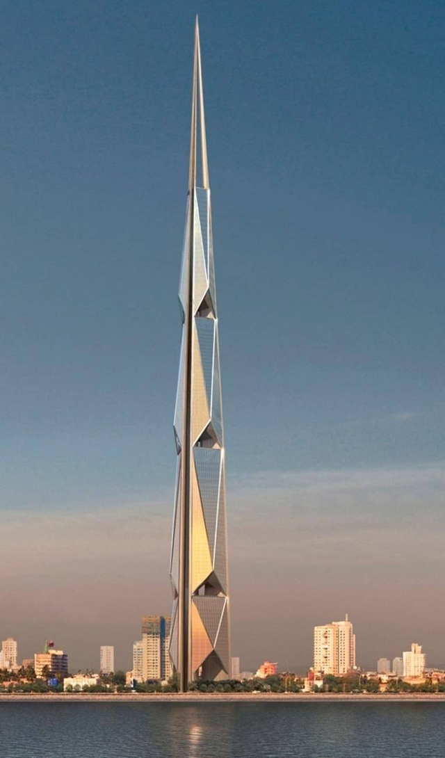 Rendering of the India Tower