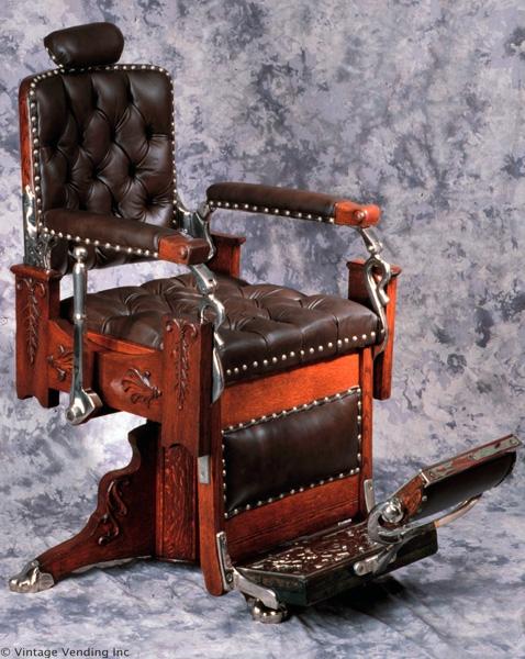 Antique Barber Chairs9. Antique Barber Chairs - Barber Girl Photos: มิถุนายน 2013