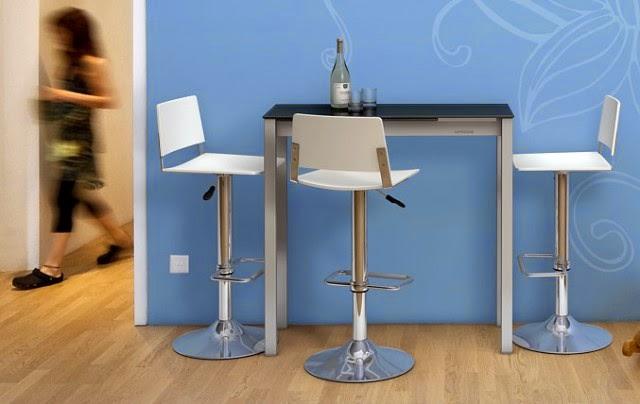 Marzua mesas para cocinas peque as for Mesas para espacios reducidos